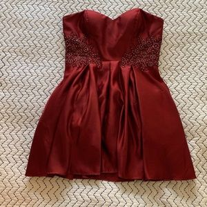 BRAND NEW: Women's Dress Formal Red Size 13